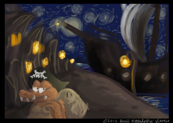When the night falls by Ribbedebie.deviantart.com on @deviantART