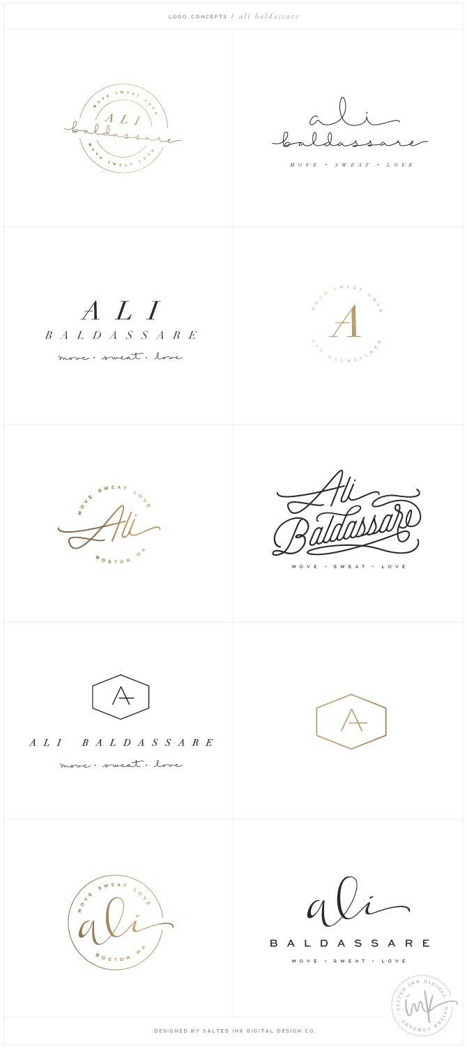 Brand Launch: Ali Baldassare by Salted Ink - Fitness Brand Design - www.saltedink.com - Brand Stylist