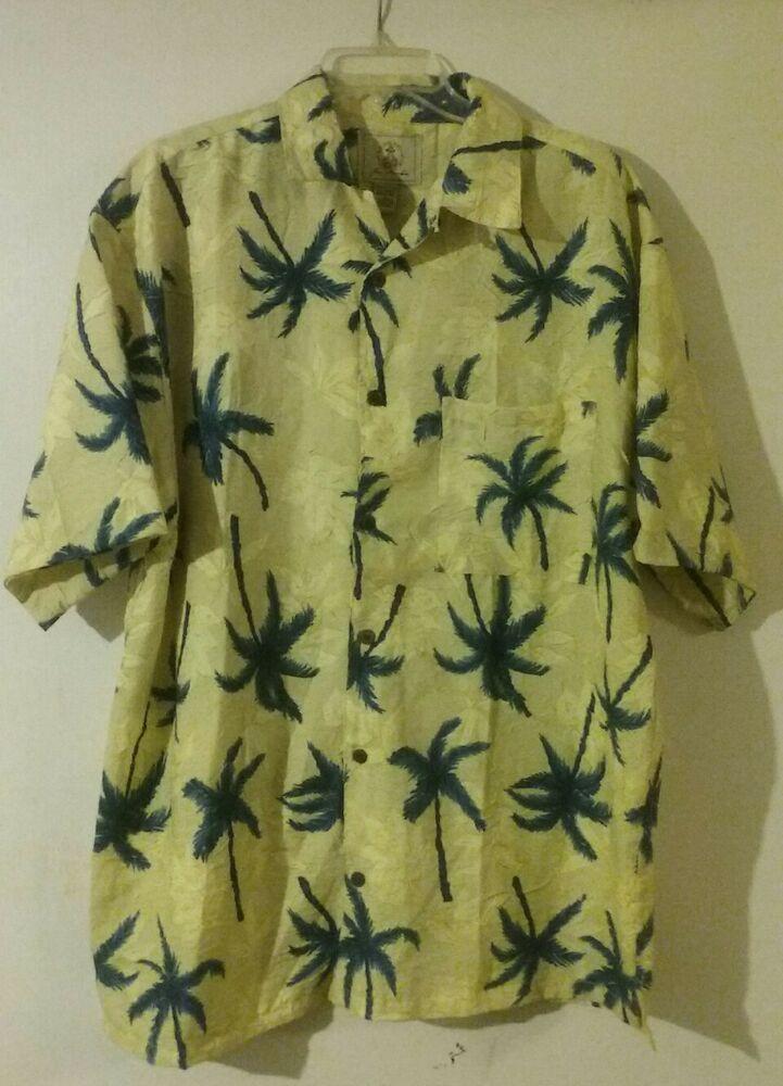 8ba29eef Joe Marlin Tropical Hawaiian Shirt Size Large Oversized #JoeMarlin #Hawaiian