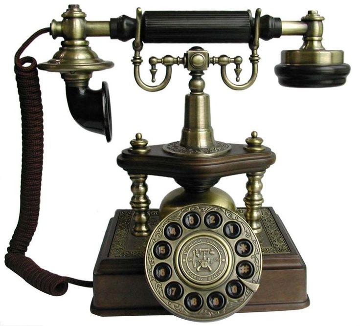 vintage phone   1894 Artesian Antique Telephone European Antique Brass Phones