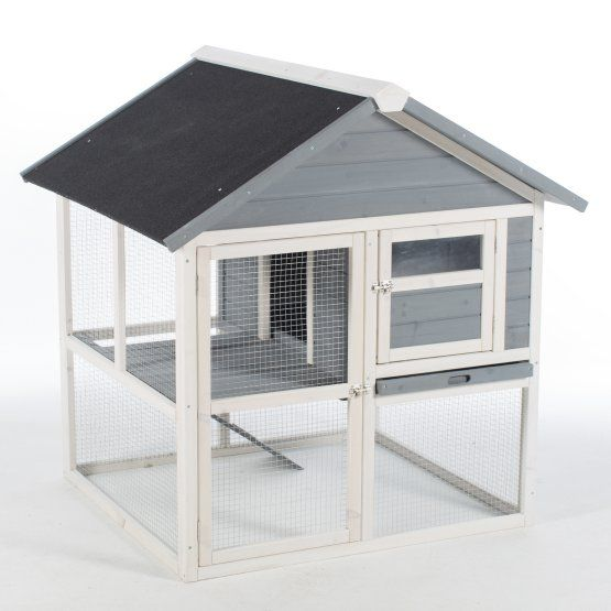 Boomer & George 2 Story Rabbit Hutch | Outdoor rabbit house ...