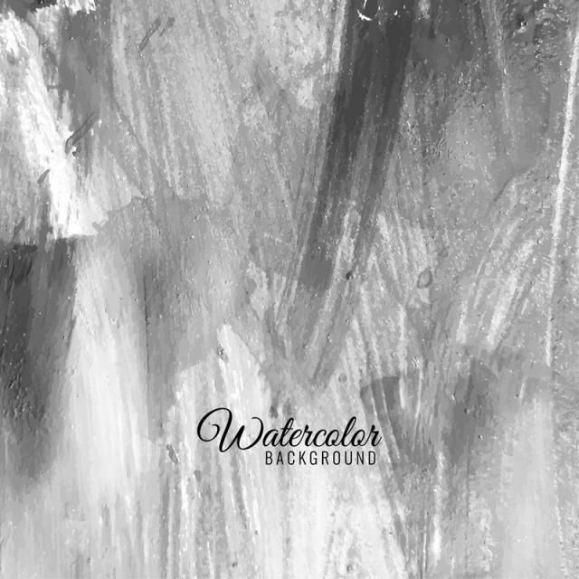 Abstract Grey Watercolor Background Abstract Vector Watercolor