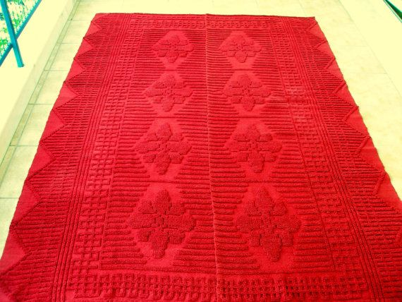 Antique Anatolian Red Kilim Rug Runner by VintageHomeStories