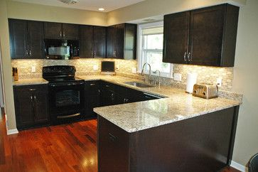 Raised ranch kitchen design ideas pictures remodel and - 10x10 kitchen designs with island ...