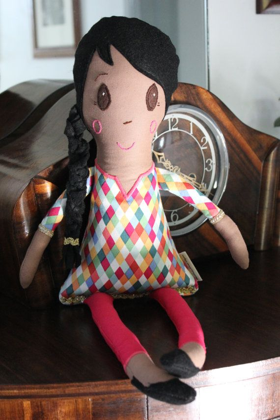 Rose Doll by PuddleducklaneAgain on Etsy