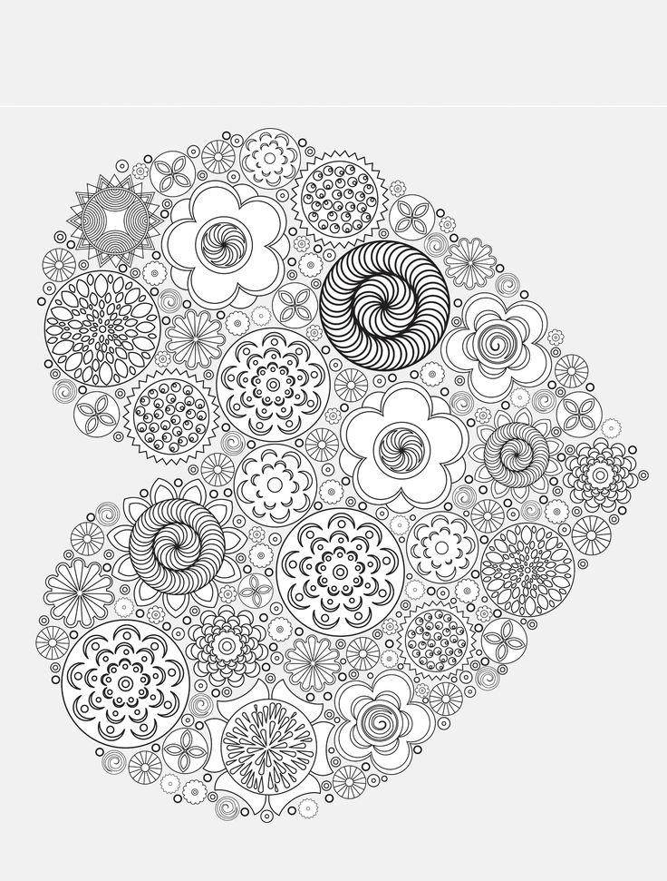 heart Valentines Abstract Doodle Zentangle Paisley Coloring pages colouring adult detailed advanced printable Kleuren voor volwassenen coloriage pour adulte anti-stress kleurplaat voor volwassenen Line Art Black and White