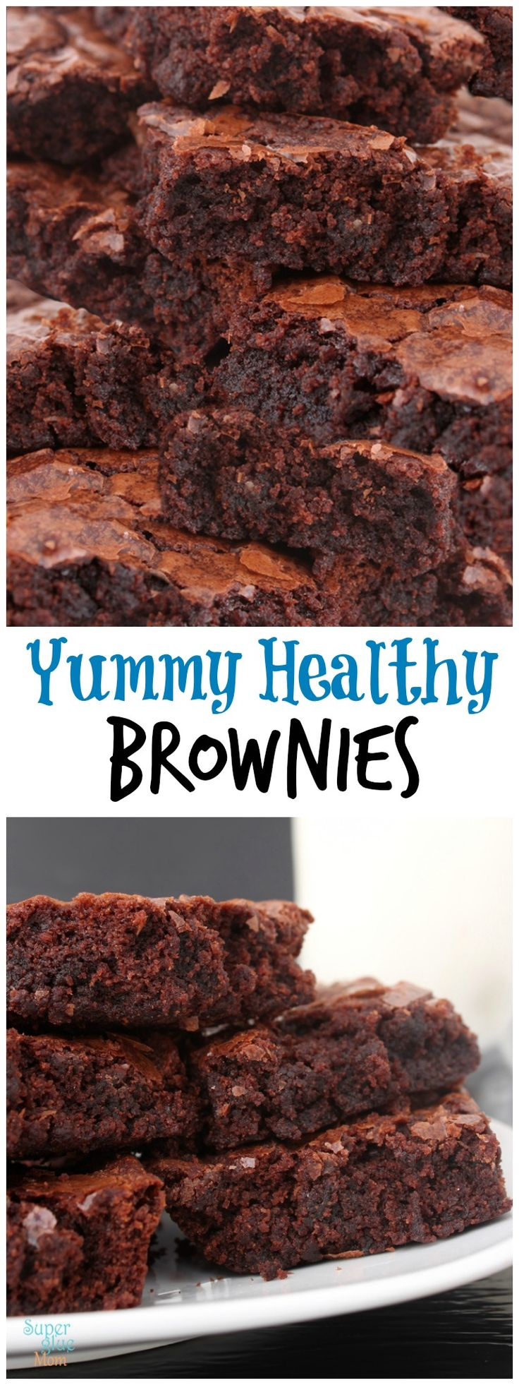 This Yummy Healthy Fudgy Chunky Chocolate Brownies Recipe is one that won't disappoint!