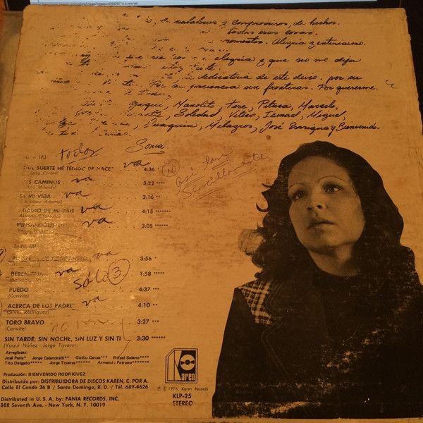 Sonia Silvestre - Nueva Cancion at Discogs 1976