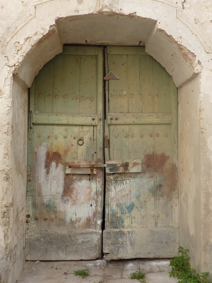 Old door in Nardò (LE) Italy
