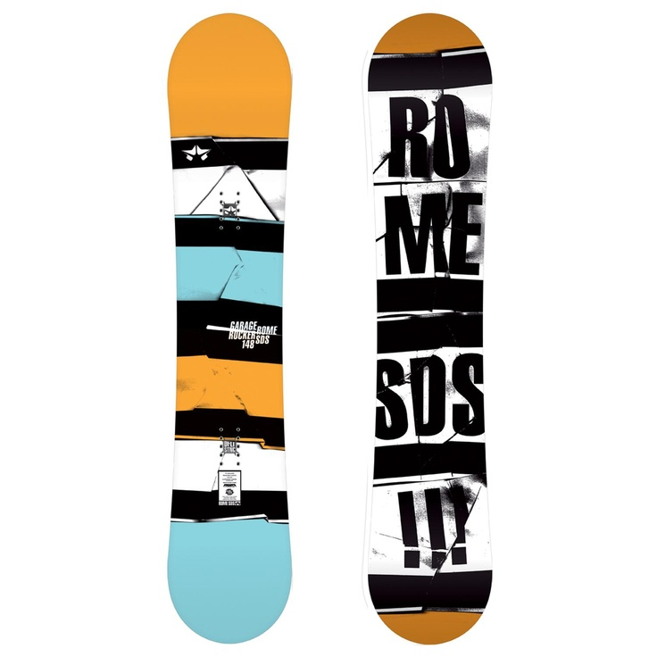 Rome Garage Rocker Snowboard 2012, gonna be shredding with this very soon!