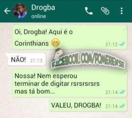 Recusa de Drogba ao Corinthians vira piada na web; veja os memes - http://anoticiadodia.com/recusa-de-drogba-ao-corinthians-vira-piada-na-web-veja-os-memes/