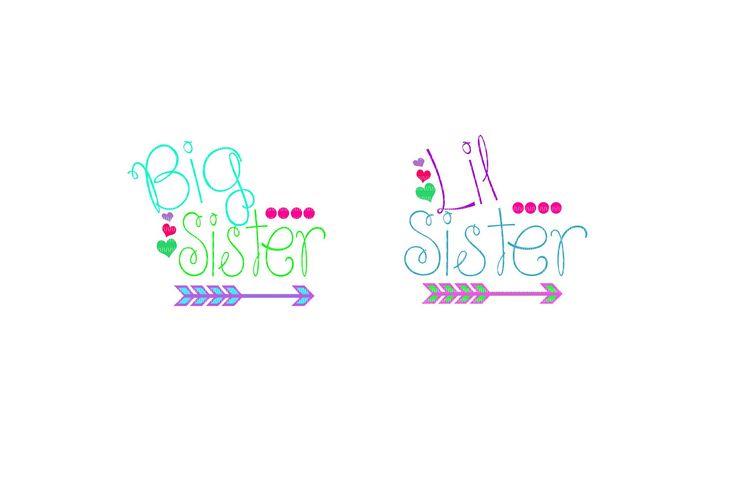 big sister to lil sister svg, big sister svg, big sister clipart, sister svg, family svg, svg files, clipart, sorority svg by TheGrandGlassFrog on Etsy https://www.etsy.com/listing/523321605/big-sister-to-lil-sister-svg-big-sister