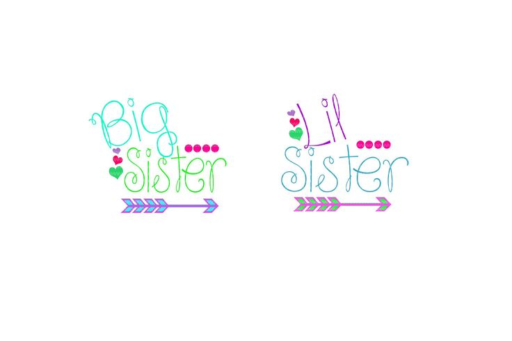 big sister to lil sister svg, big sister svg, big sister clipart, sister svg, family svg, svg files, clipart, sorority svg by TheGrandGlassFrog on Etsy https://www.etsy.com/listing/523321605/big-sister-to-lil-sister-svg-big-sister
