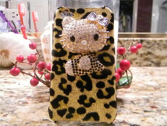 Leopard Hello Kitty IPhone Case