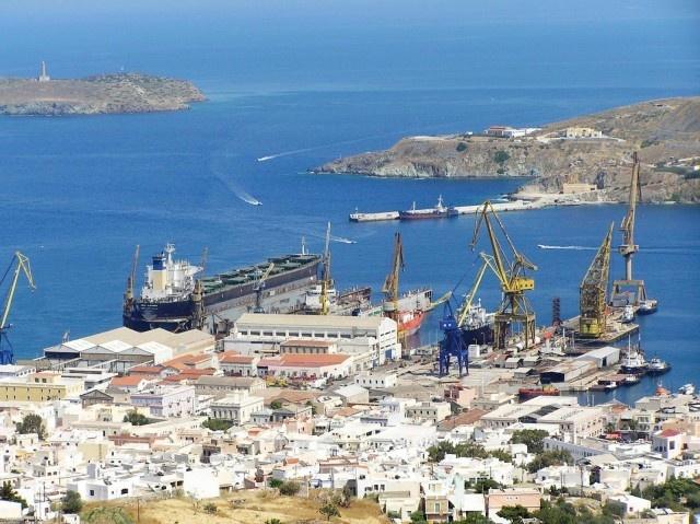 Neorion Shipyard Syros #syros
