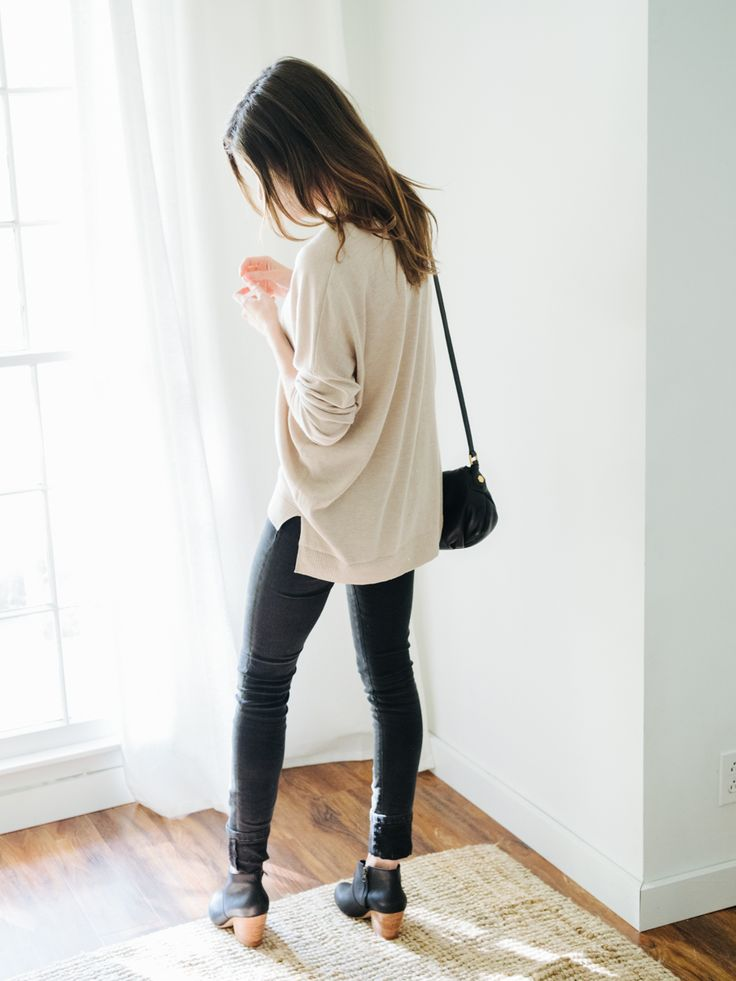 one outfit that's warm enough   cool enough for fall