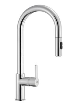 Image of Franke Arena Pull-Out Spray Kitchen Sink Mixer Tap Chrome £300