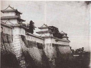 大阪城 古写真 osaka castle meiji-taisho period