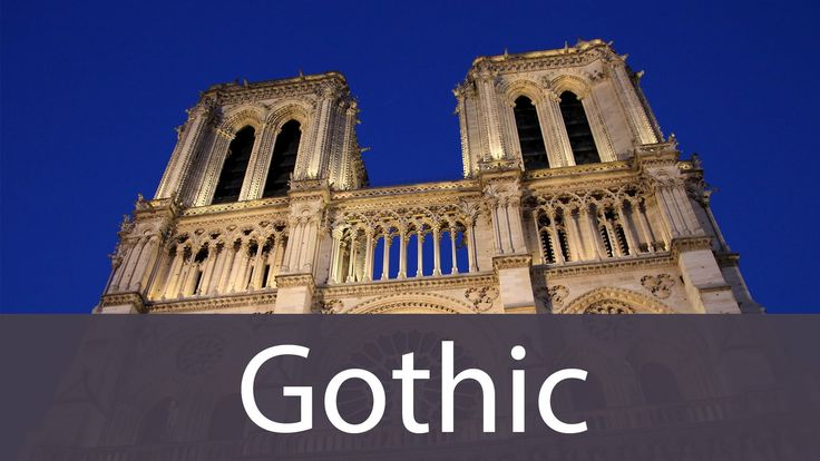 Gothic Art History from Goodbye-Art Academy