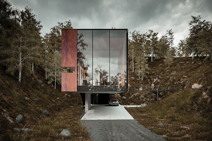 """""""HOUSE FOR A PHOTOGRAPHER"""" BY HYDE ARCHITECTS"""
