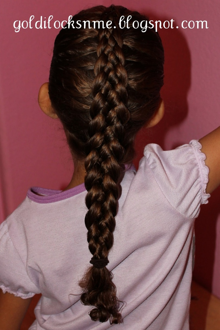 Holy French Braid...I can't even do a 3 strand one let alone a 5 strand...this is cool!: French Braids I, Beautiful Braids, Beautiful Hairstyles, Book Worth, Dutch Braids, 5 Strand Braids, Hair Nails Makeup Must Tried, 5 Strands Braids, Hair Stuff