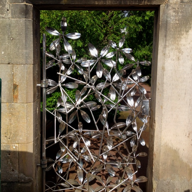 East gate of the Royal Botanical Garden, Edinburgh. 20th August 2012.