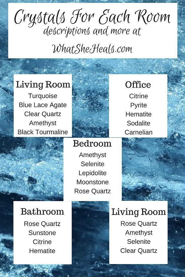How To Infuse Positive Energy in Every Room Using Crystals