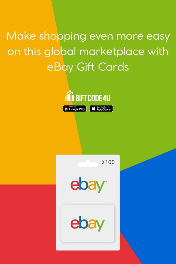 Buy An Ebay Gift Cards Online Ebay Gift Gift Card Online Gifts