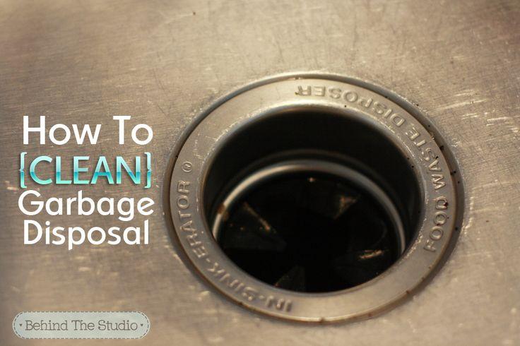 69 best garbage disposals images on pinterest garbage disposals cleaning recipes and cleaning. Black Bedroom Furniture Sets. Home Design Ideas