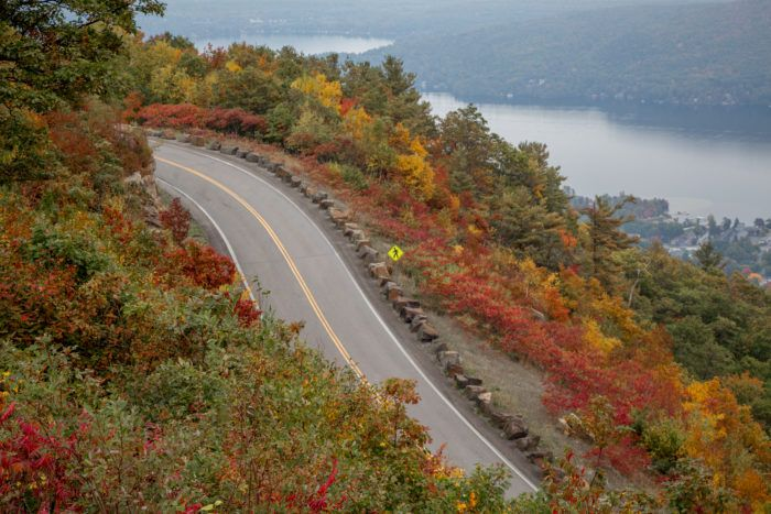 **FALL LEAF DRIVES NY**10 Country Roads In New York That Are Pure Bliss In The Fall