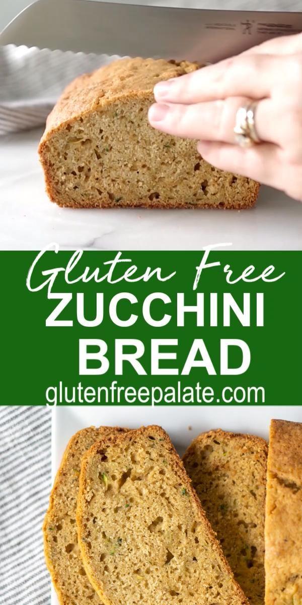 Easy Gluten Free Zucchini Bread Video In 2020 Gluten Free Zucchini Bread Gluten Free Recipes Easy Gluten Free Zucchini
