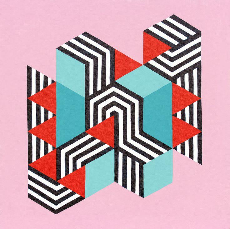 "Saatchi Online Artist: Jessica Caputo Macon; Acrylic, 2012, Painting ""Untitled Too"""