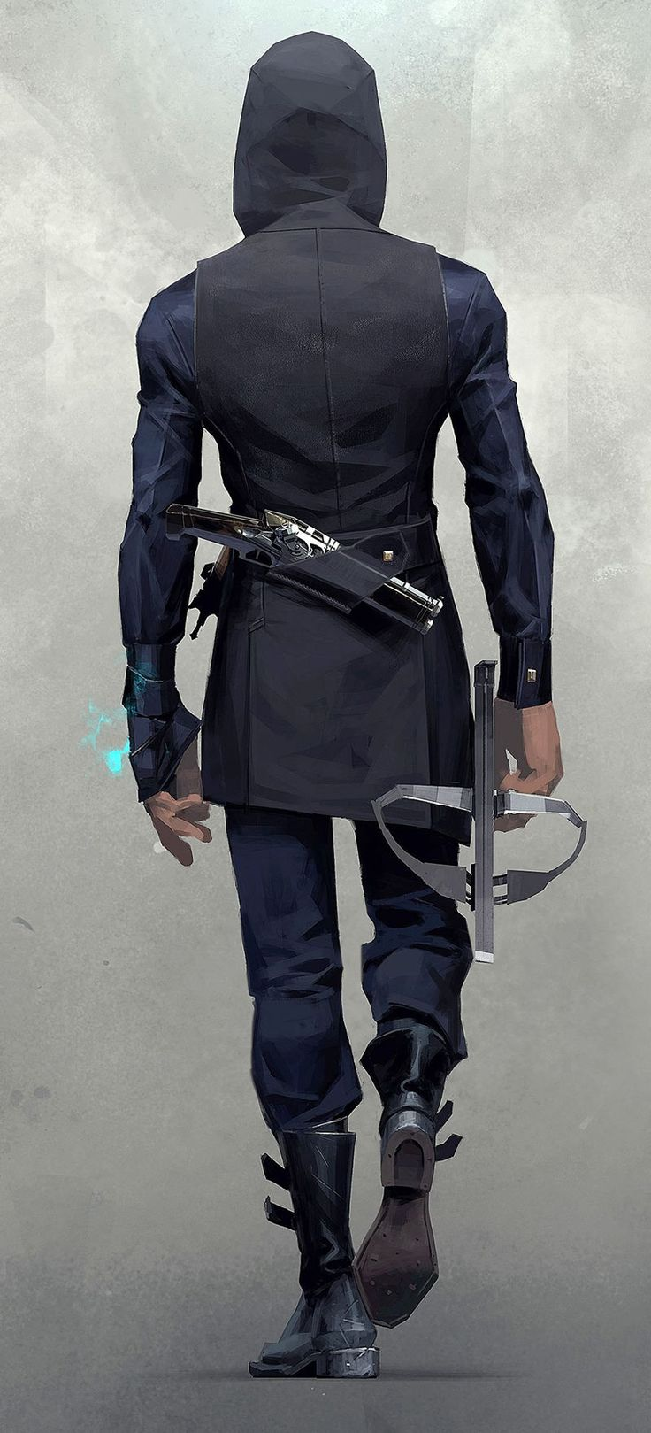 Corvo Attano Back from Dishonored 2