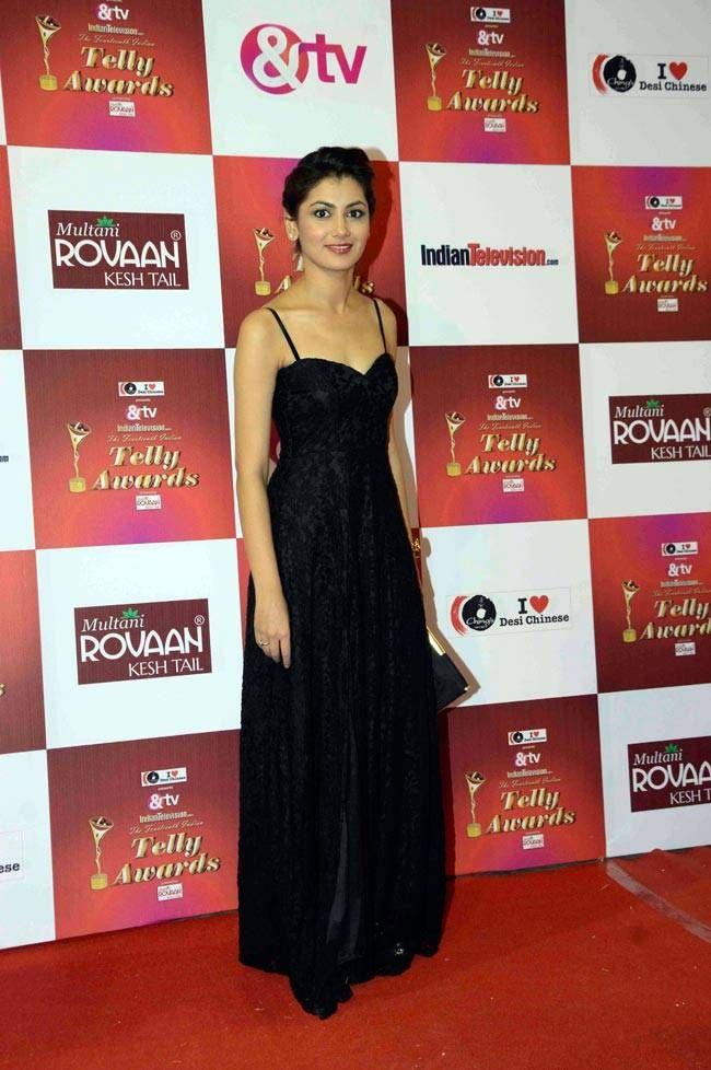 Sriti Jha at the Indian Telly Awards 2015. #Bollywood #Fashion #Style #Beauty #Hot #Sexy