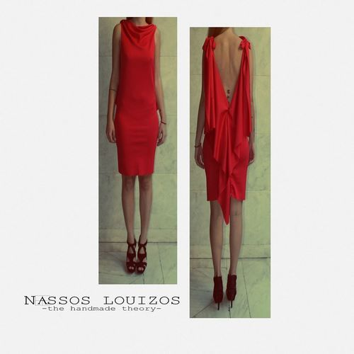 NASSOS LOUIZOS  - SEXY BACK DRESS
