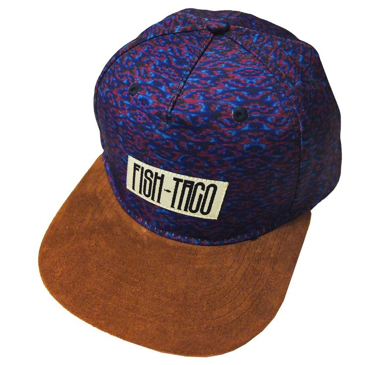 Fish Taco Limited Edition Leather Snapback Hat // 1 of 25Real LeatherReal SuedeOriginal DesignsQuality Prints