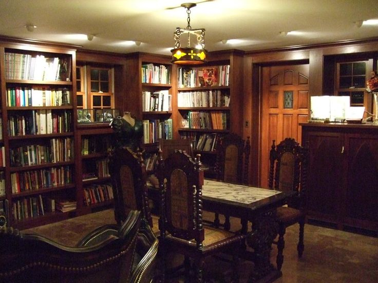 The Steampunk Home: Holly Black's Hidden Library