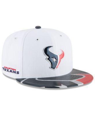 New Era Boys' Houston Texans 2017 Draft 59FIFTY Cap - White/Navy 6 1/2
