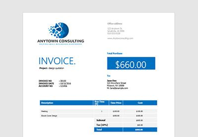 How to Make an Invoice in Word: From a Professional Template by Laura Spencer