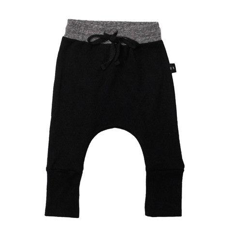 High Cuff Pant Black