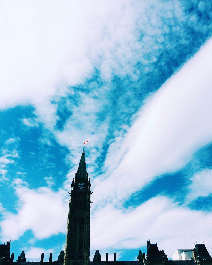 #ottawa #canada #photography #blueskies #vscocam #vsco