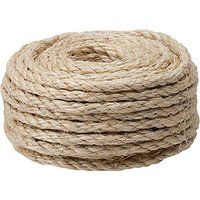 Cheap CAT SCRATCHING POST - Replacement Sisal Rope: 3/8