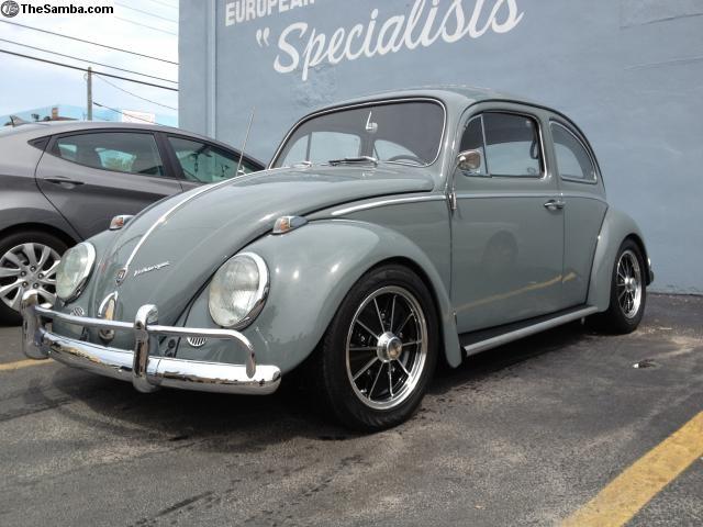 63 Vw Bug With Old Skool Empi S Vw Type 1 K 228 Fer Vocho