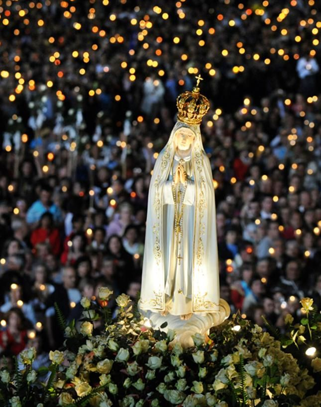Fatima, Portugal. Nuestra Señora del Rosario.