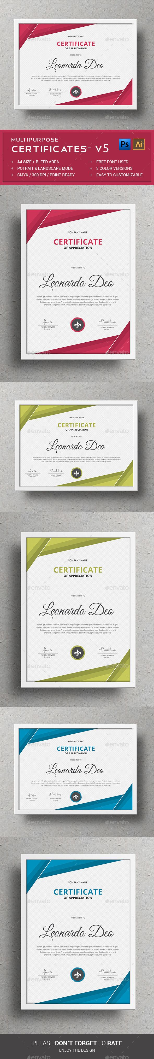 Professionally organized with labelled PSD Certificate Template, can be edited by any beginner. Flexible to change image, text and color very quick & easy. Download http://graphicriver.net/item/certificates/12743648?ref=themedevisers