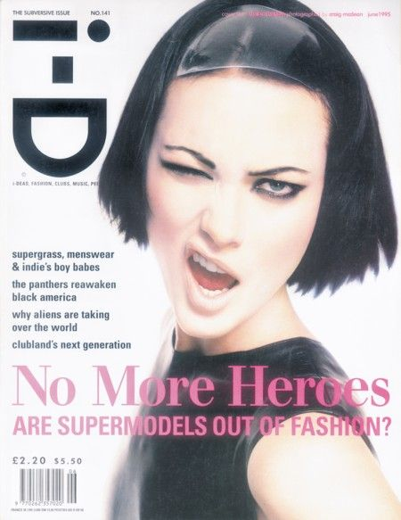 141. The Subversive Issue June 1995 Shalom Photography by Craig McDean Styling by Edward Enninful Hair by Eugene Make-up by Pat McGrath