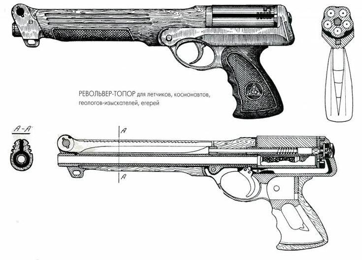 Специальный револьвер ТОЗ-81 «Марс» » Военное обозрение
