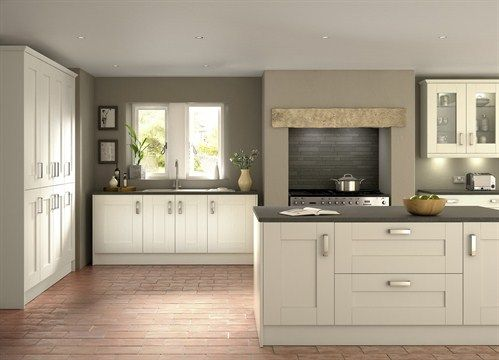Image result for contemporary shaker kitchen