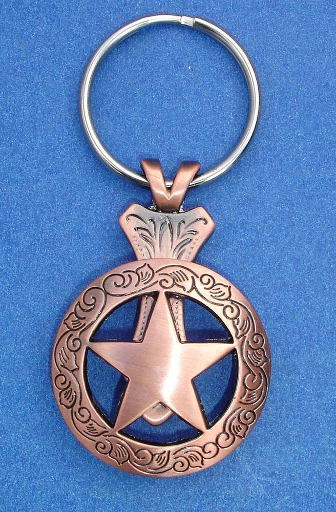 Western Cowboy Jewelry Bright Eagle Silver Dollar Concho Key Ring Kit