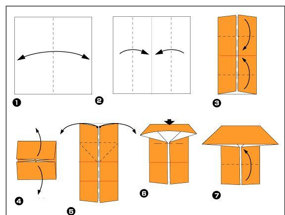 vouwopdracht om even en oneven huizen mee te maken. Ook de vouwopdracht hoort bij rekenen, dus 2 in 1 klap ;-)